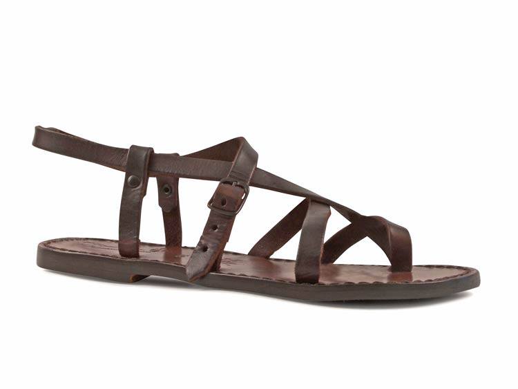 New WOMENS FLAT STUDDED GLADIATOR LEATHER STYLE LADIES SANDALS SHOES SIZE 3 8  EBay