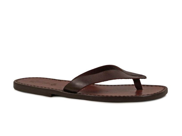 Handmade-genuine-leather-thong-sandals-for-men-leather-sole-Made-in-Italy