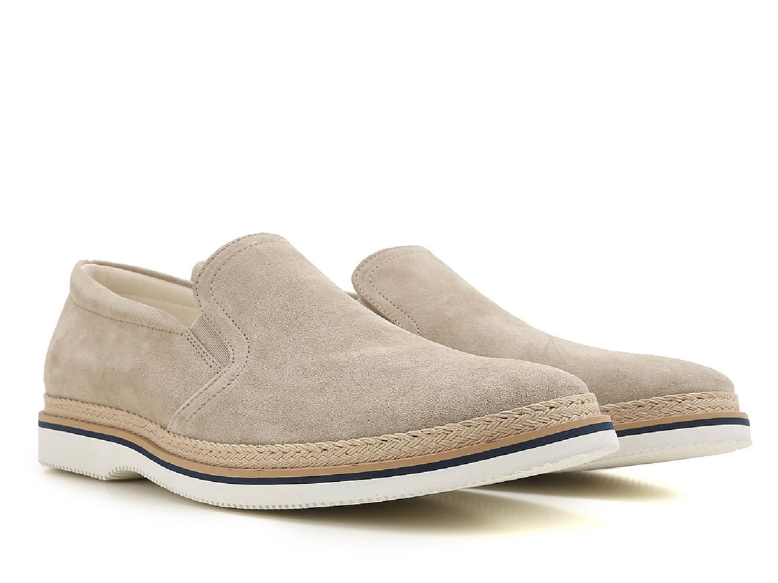 discount get to buy Hogan Men's Beige Suede Loafers clearance recommend za5cw