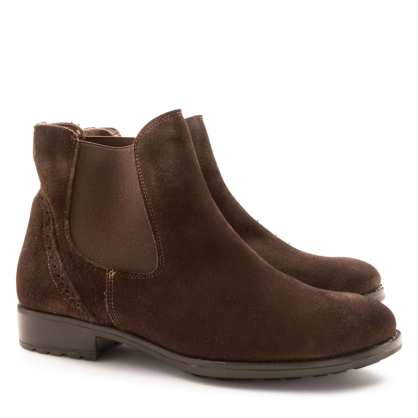 handmade s chelsea boots in suede leather italian