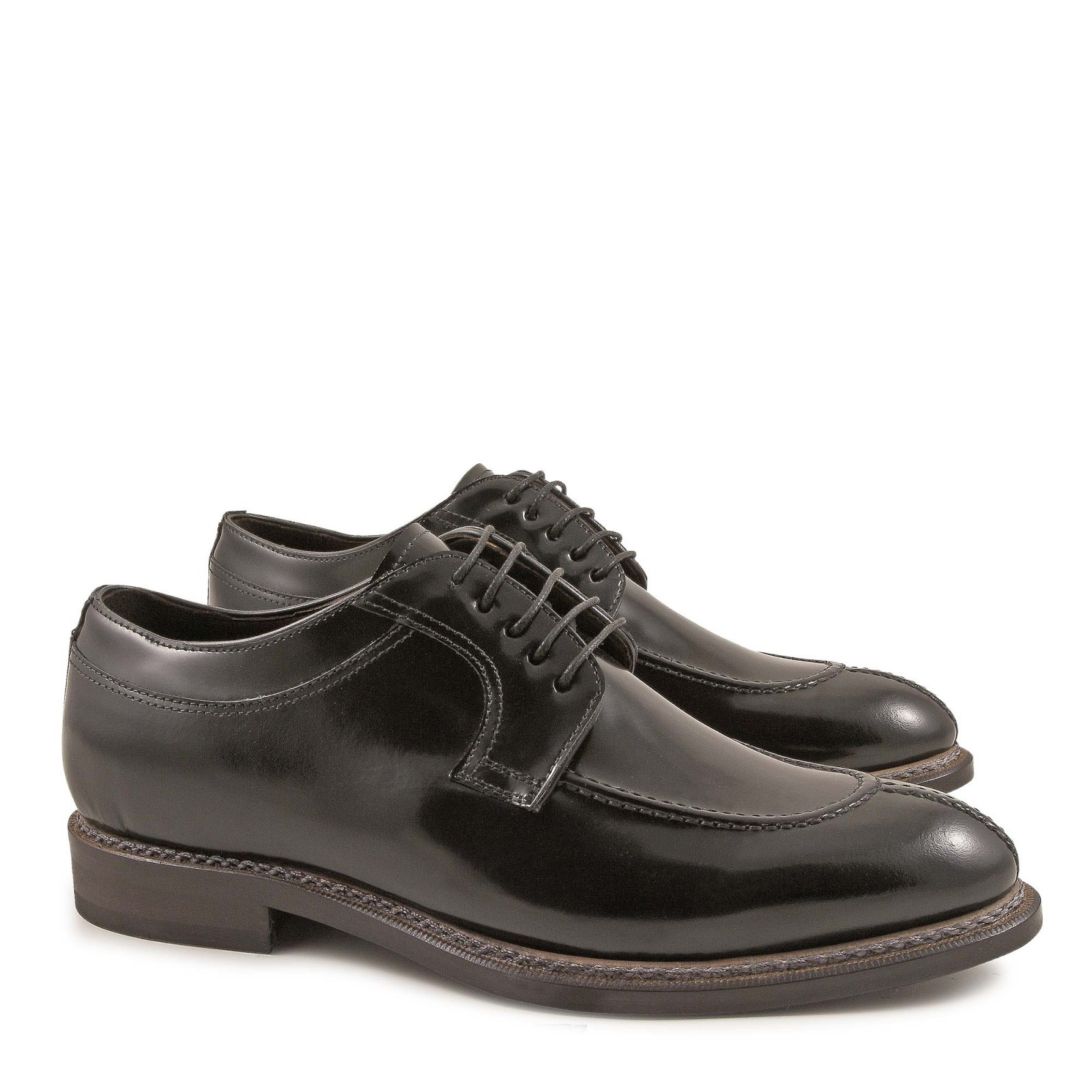handmade s italian dress shoes in black leather