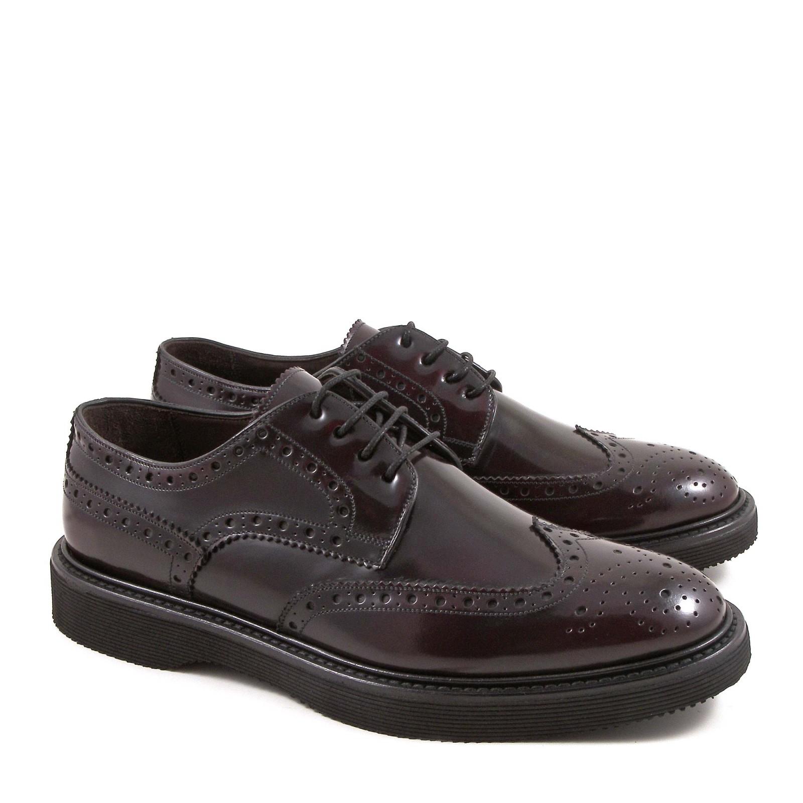 handmade s burgundy leather wingtip shoes