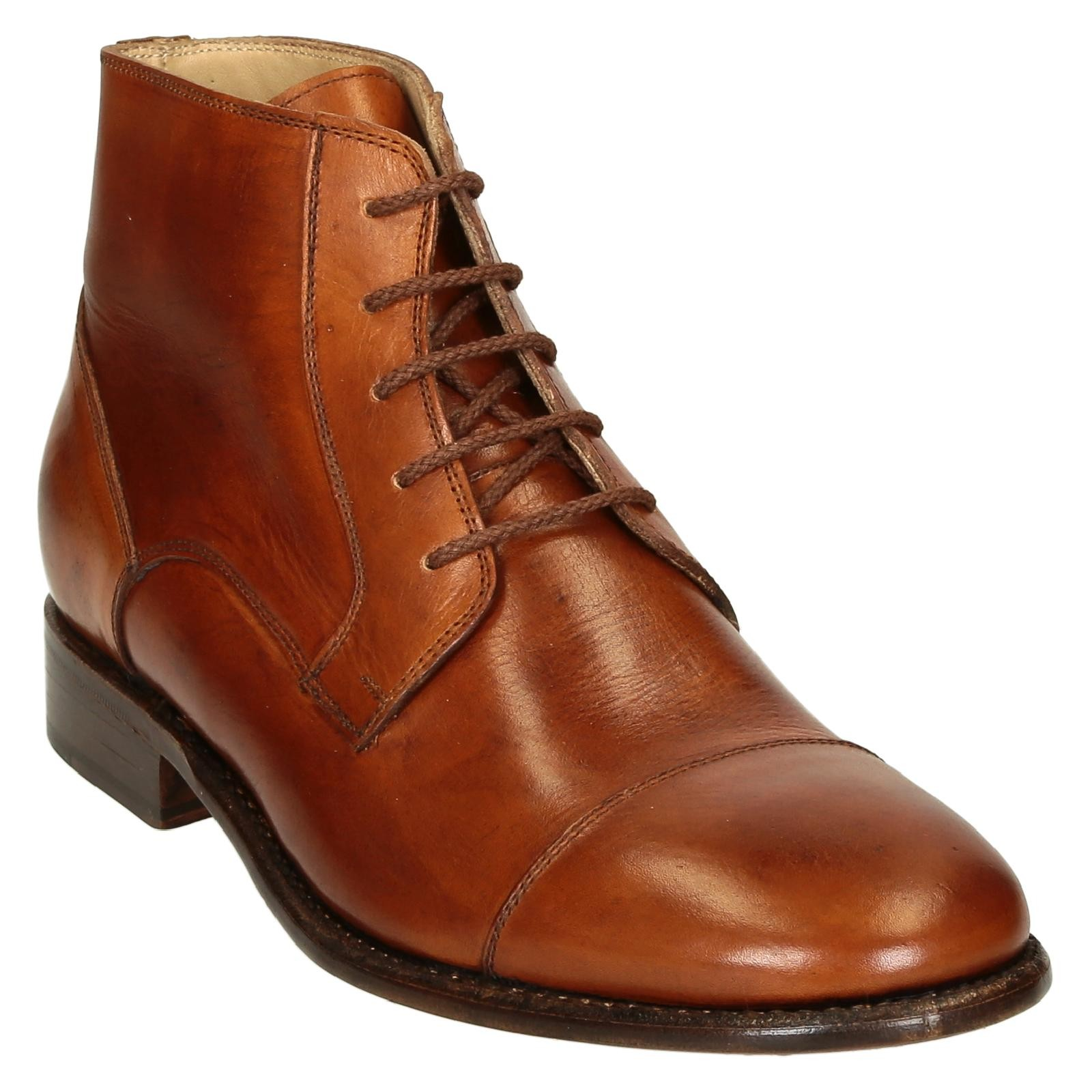 leather plain cap toe s dress boots